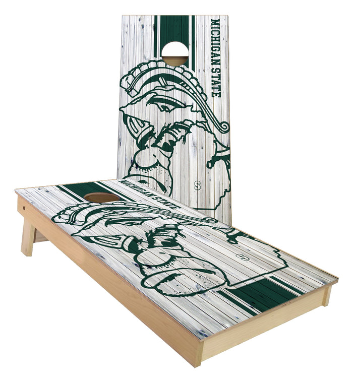 Michigan State University Spartans Cornhole Boards
