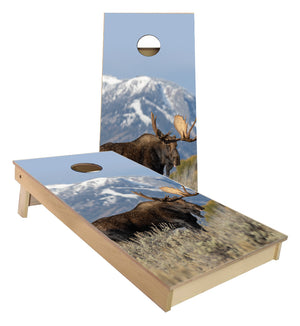 Moose Cornhole Boards
