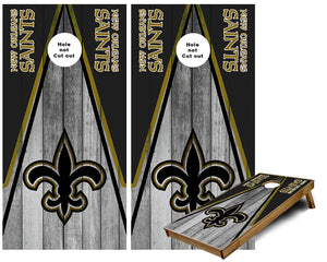 New Orleans Triangle Cornhole Wraps