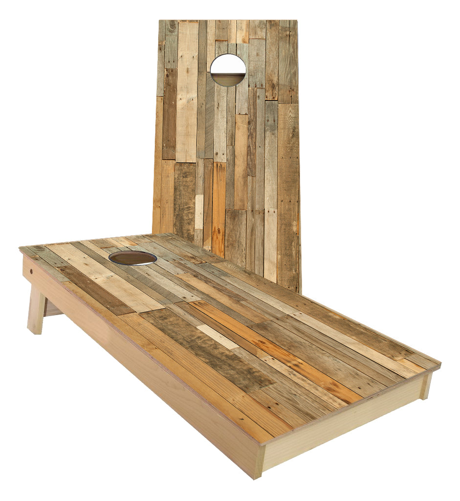 Pallet Planks Cornhole Boards
