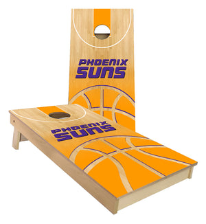 Phoenix Suns Basketball Court Cornhole Boards