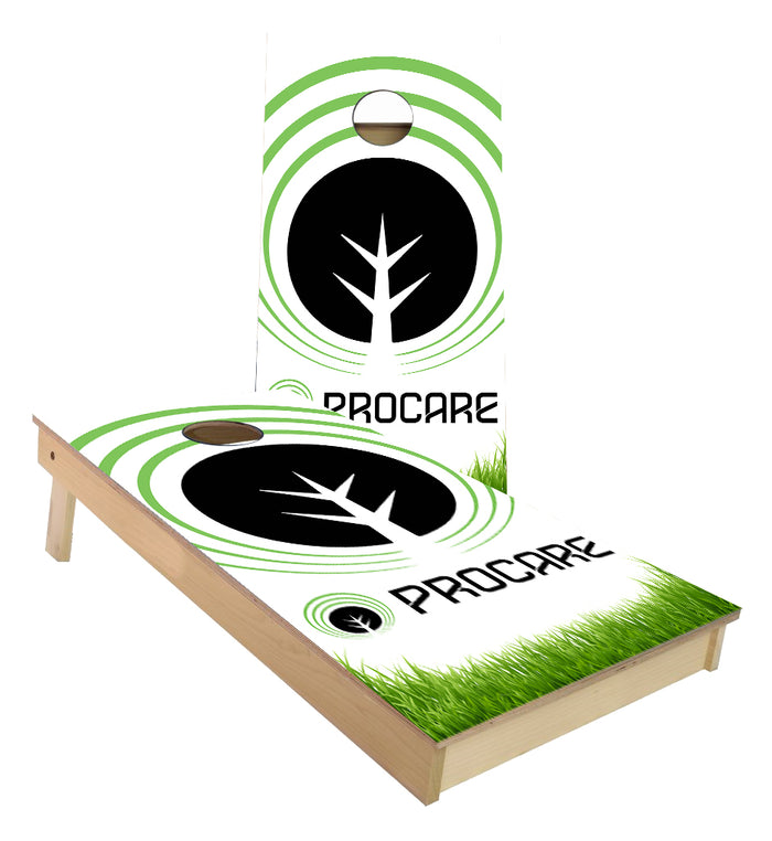 Pro Care Landscape Custom Cornhole Boards
