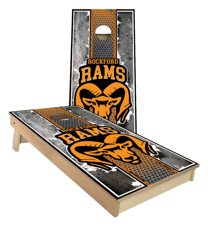 Rockford Rams Cornhole Boards