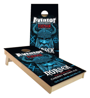 Aviator Brewing Norsek Cornhole Boards
