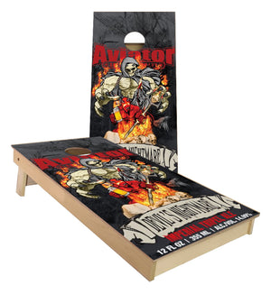Aviator Brewing Devils Nightmare Cornhole Boards