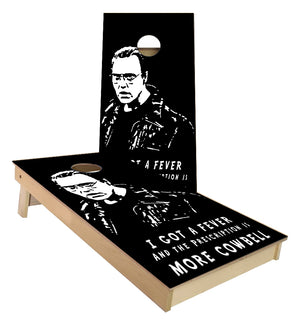 More Cowbell Cornhole Boards