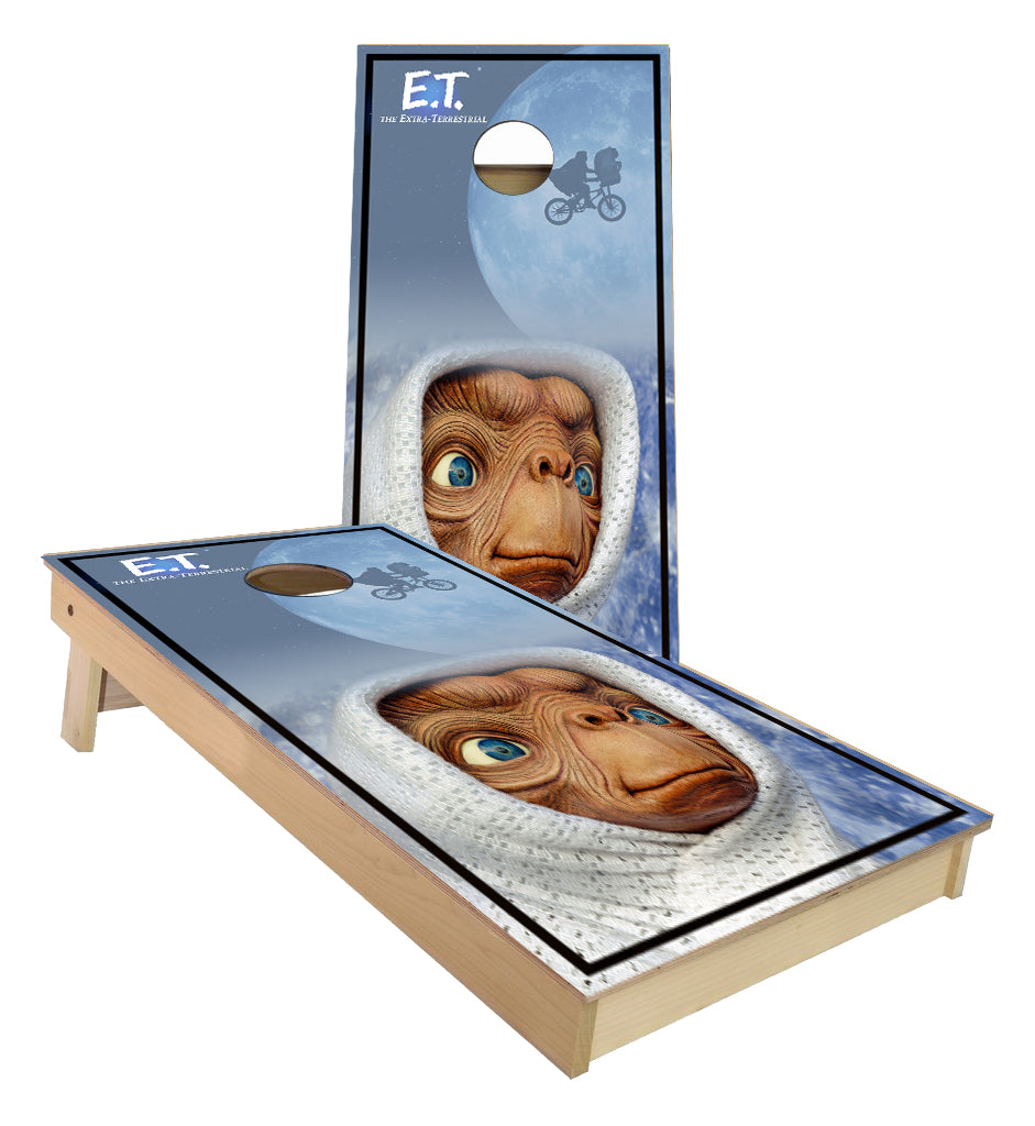 E.T The Extra Terrestrial  Cornhole Boards