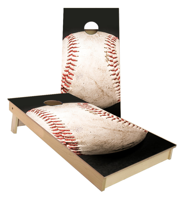 Baseball Cornhole Boards