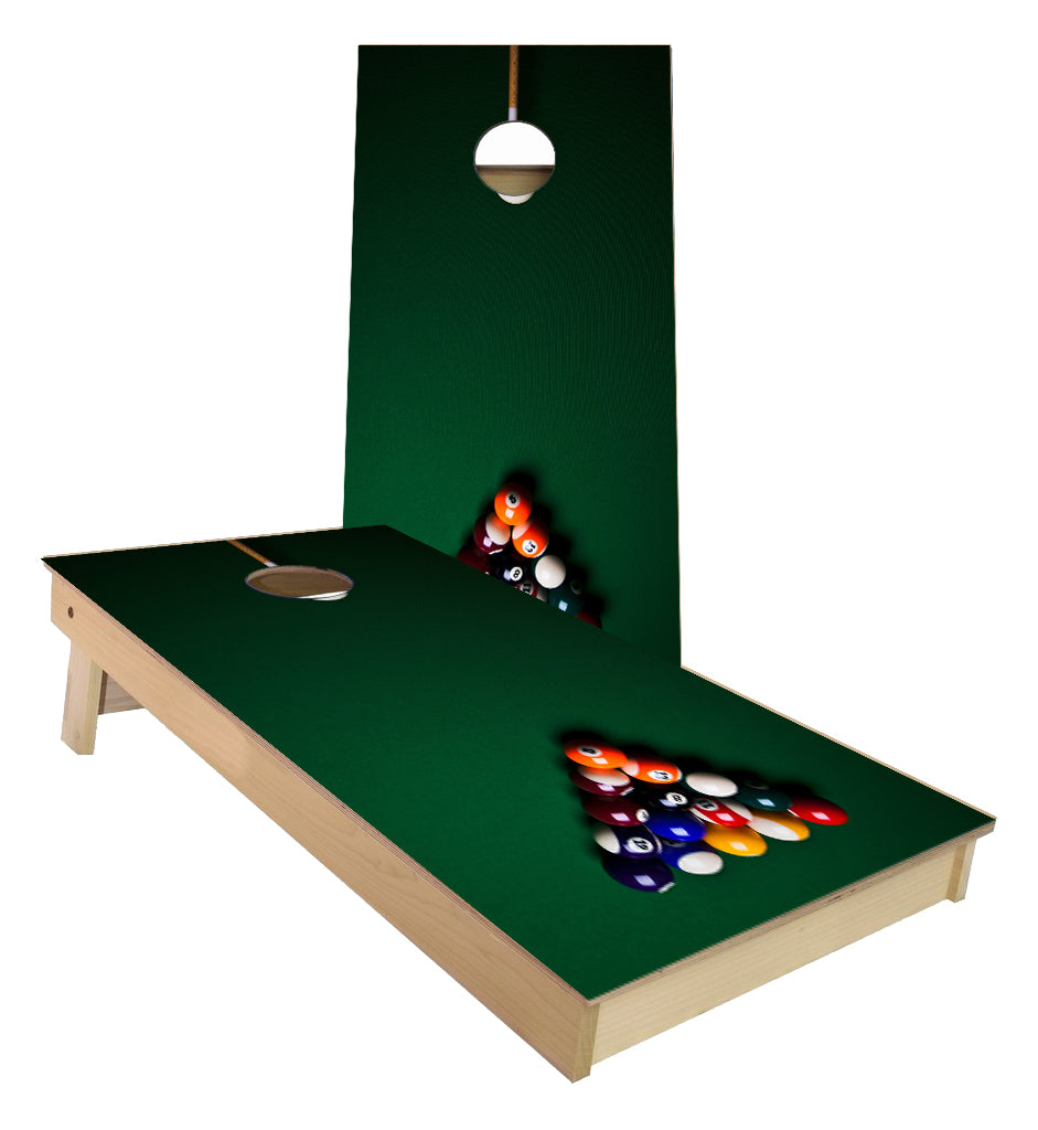 Pool Table Cornhole Boards