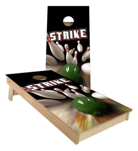 Bowling Alley Cornhole Boards