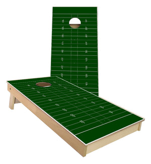 Football Field Cornhole Boards