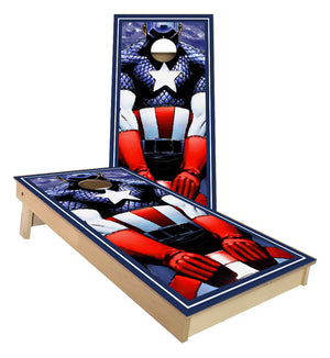Captain America Cornhole Boards