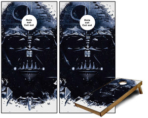 Star Wars Death Star Cornhole Wraps