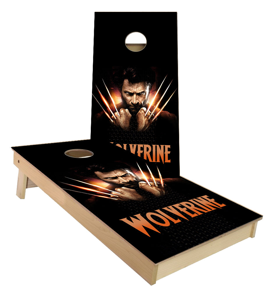 X Men Wolverine Cornhole Boards