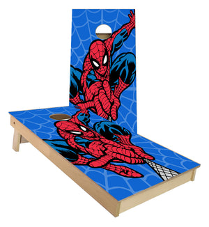 Spider Man Shooting Web Cornhole Boards