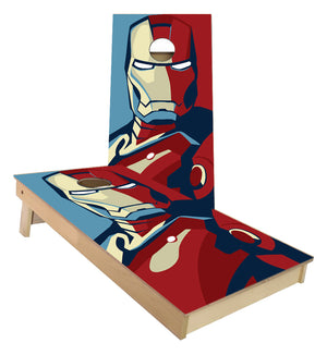 Iron Man Cornhole Boards