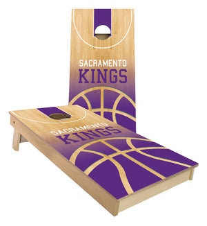 Sacramento Kings Basketball Court Cornhole Boards