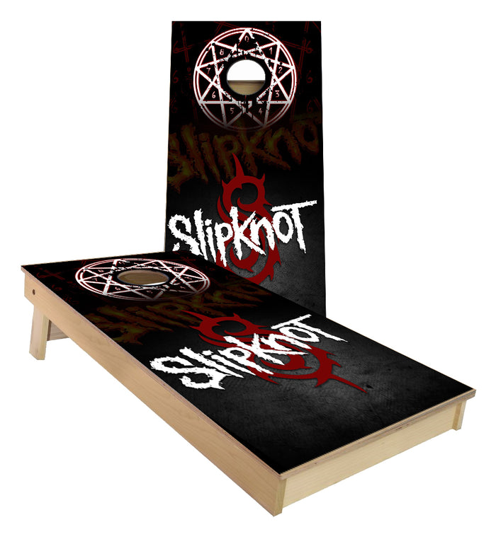 SlipKnot Band Cornhole Boards