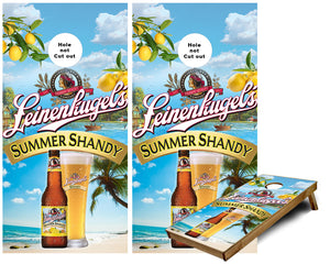 Leinenkugel Summer Shandy  Cornhole Wraps