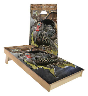 NWTF Turkey Hunting Cornhole Boards