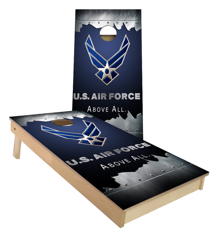 US Airforce Above All Cornhole Boards