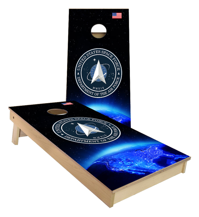 United States Space Force Cornhole Boards