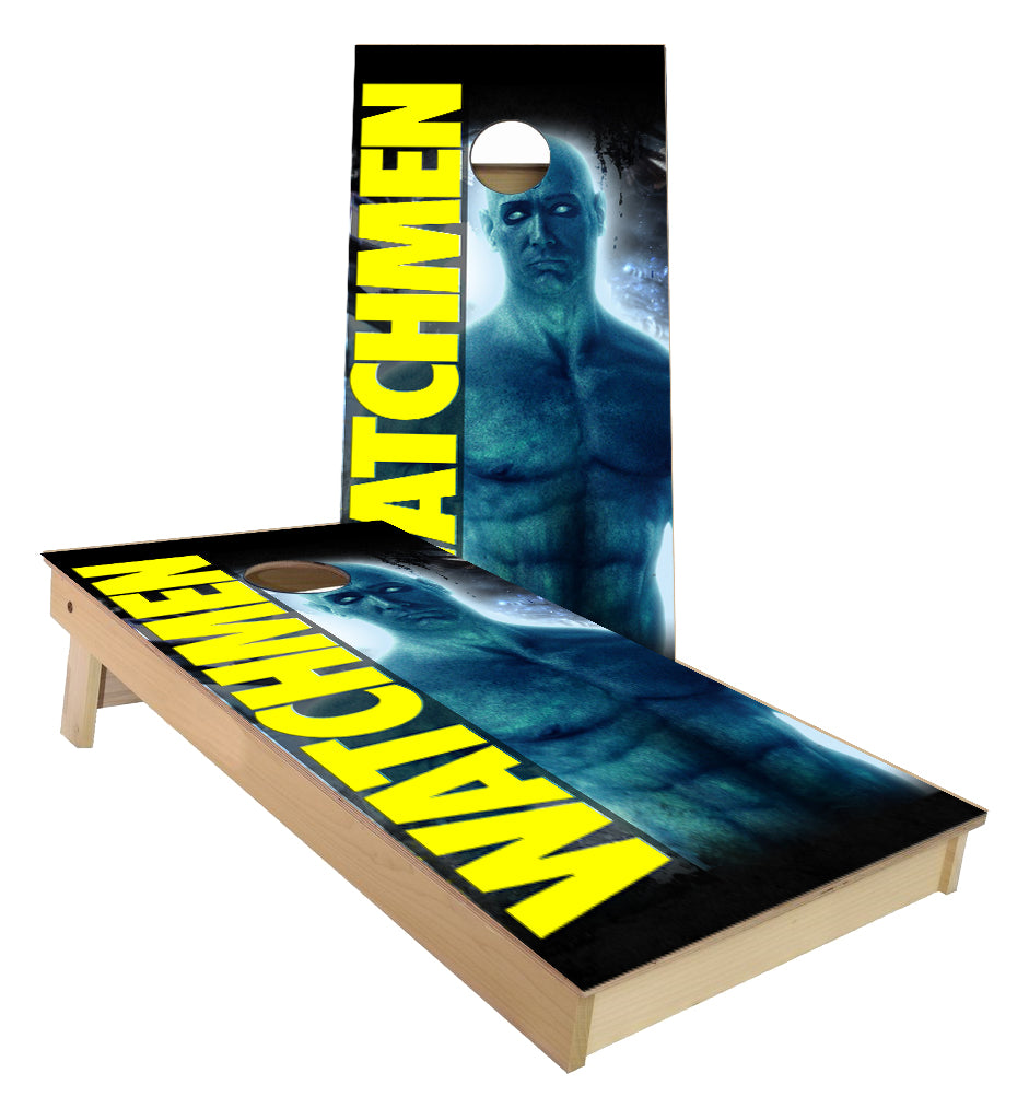 The Watchmen Dr Manhattan Cornhole Boards