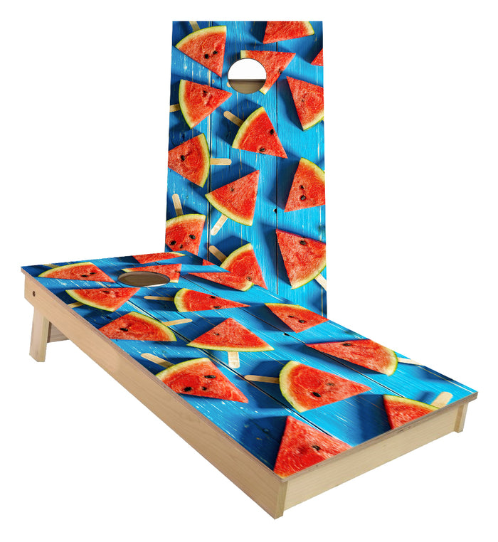 Watermelon Summer Slices  Cornhole Boards