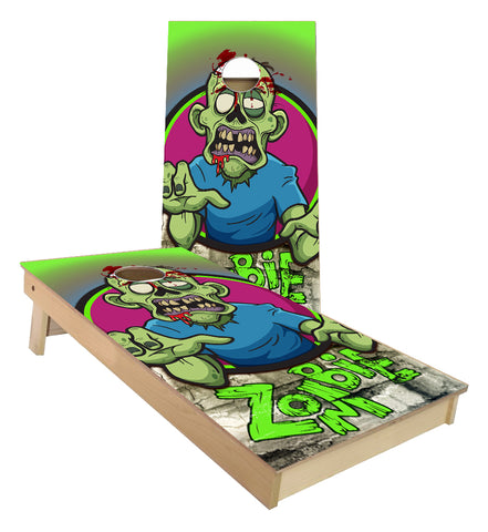 Zombie Monster Cornhole Boards