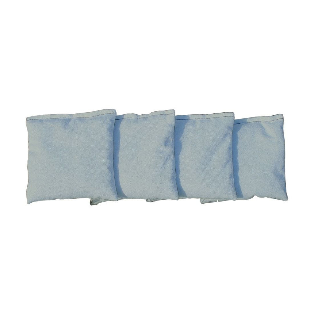 Corn Filled cornhole bags set of 4 - Grey
