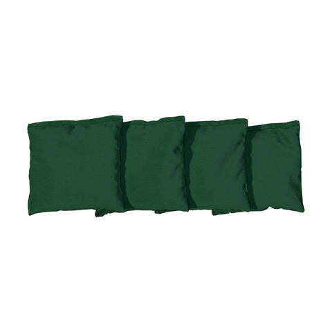 Corn Filled cornhole bags set of 4 - Hunter Green