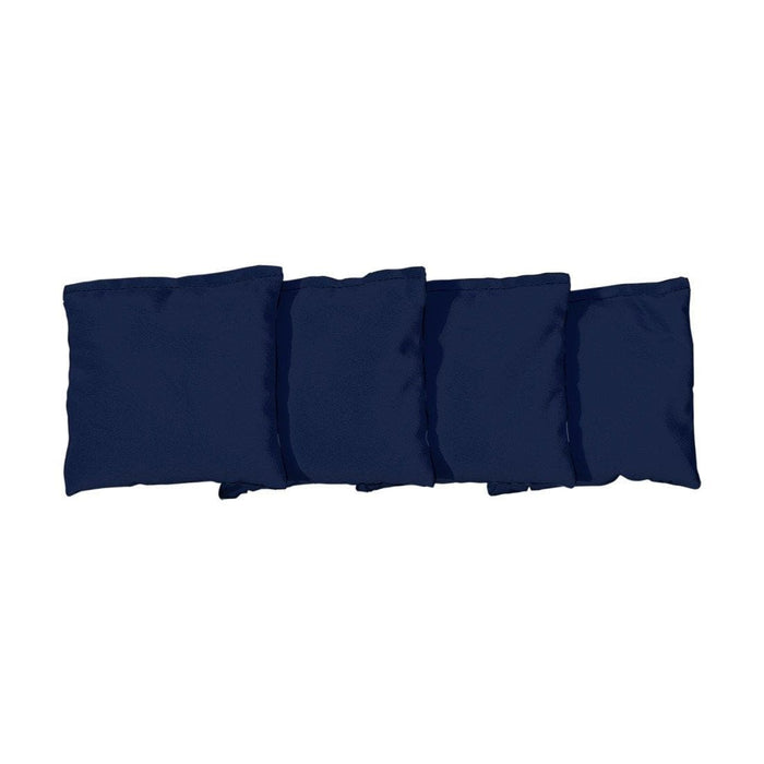 Corn Filled cornhole bags set of 4 - Navy Blue
