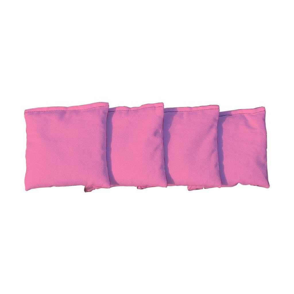 Corn Filled cornhole bags set of 4 - Pink