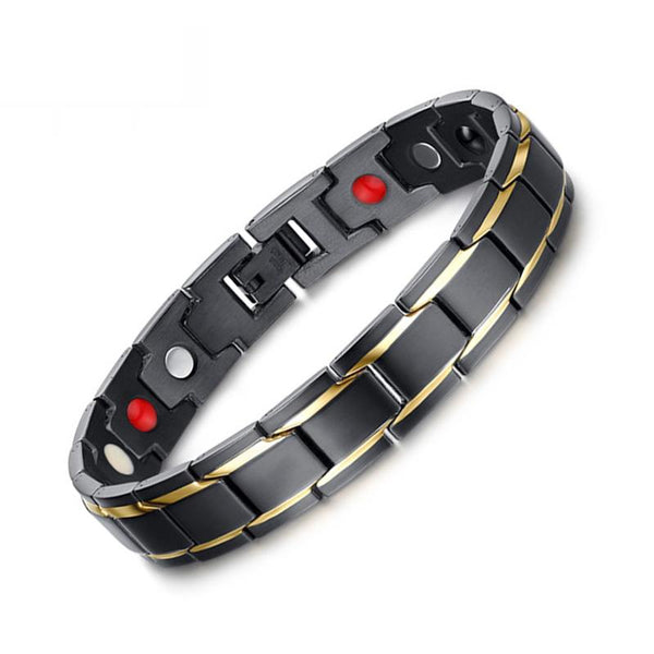 Men's Bracelets - Dapper Dark Stainless - Zentoro