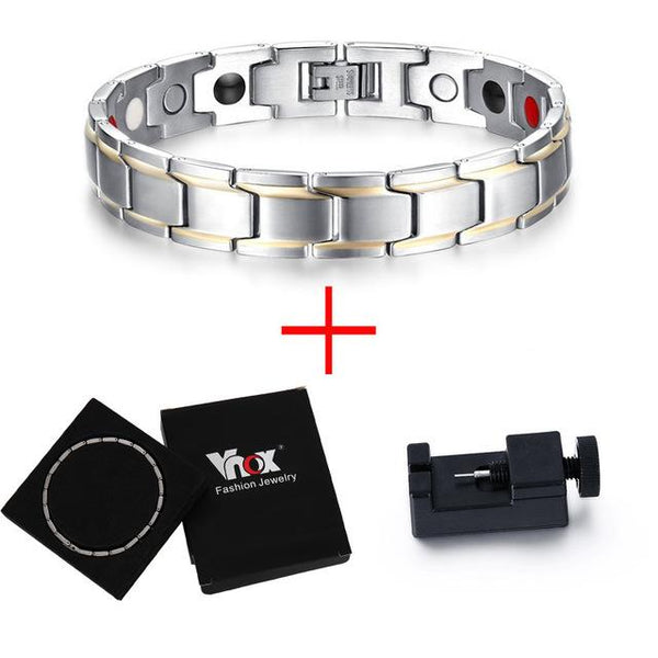 Men's Bracelets - Dapper Shine Stainless - Zentoro