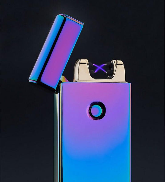 Lighters - Magenta Double-Ray Lightning Lighter - Zentoro
