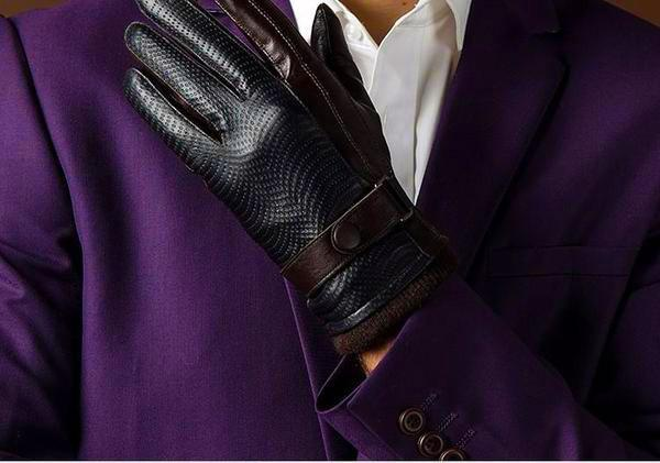 - Genuine Leather Goatskin Gloves - Zentoro
