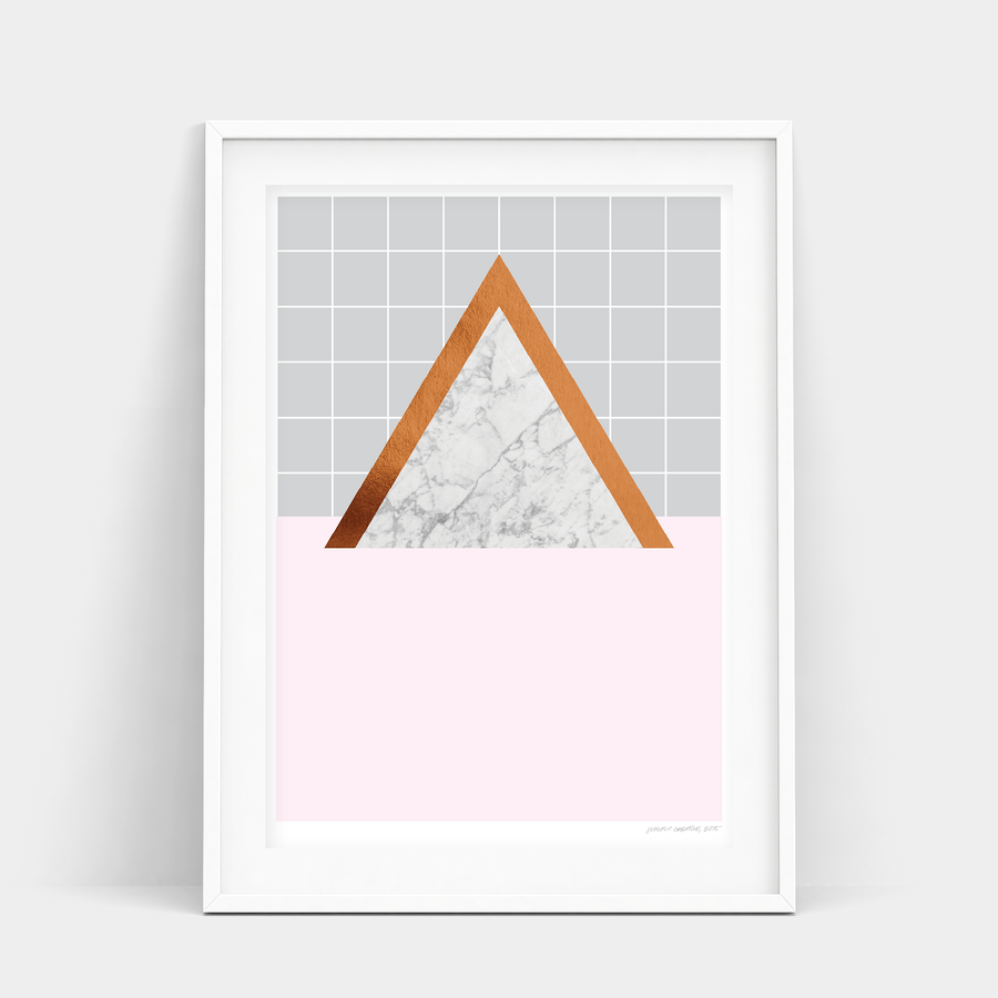 BLUSH TRIANGLE