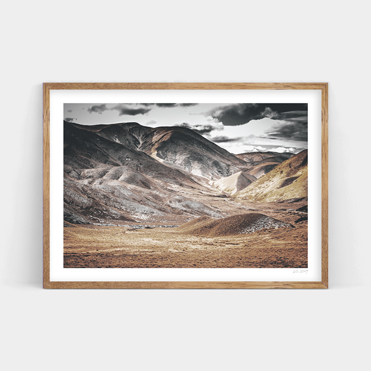 LINDIS PASS LANDSCAPE, NEW ZEALAND