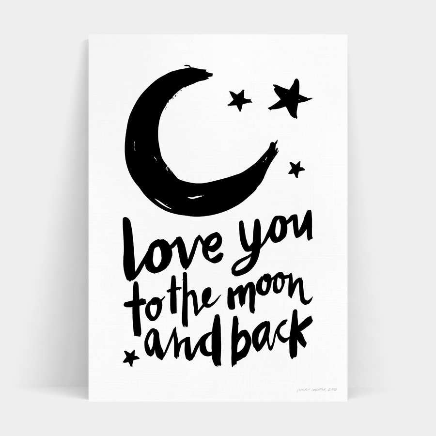 MOON AND BACK