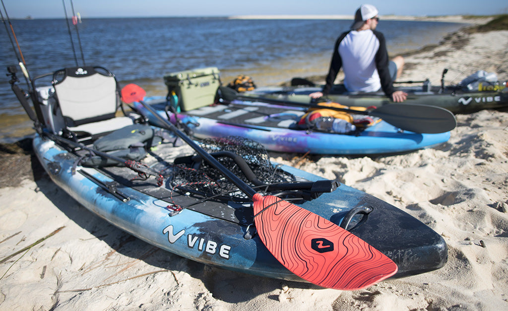 Vibe kayaks fishing and recreational kayaks for How to kayak fish