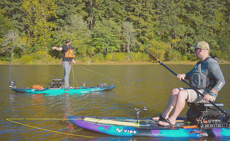 BE AWARE ON THE WATER WHILE KAYAK FISHING
