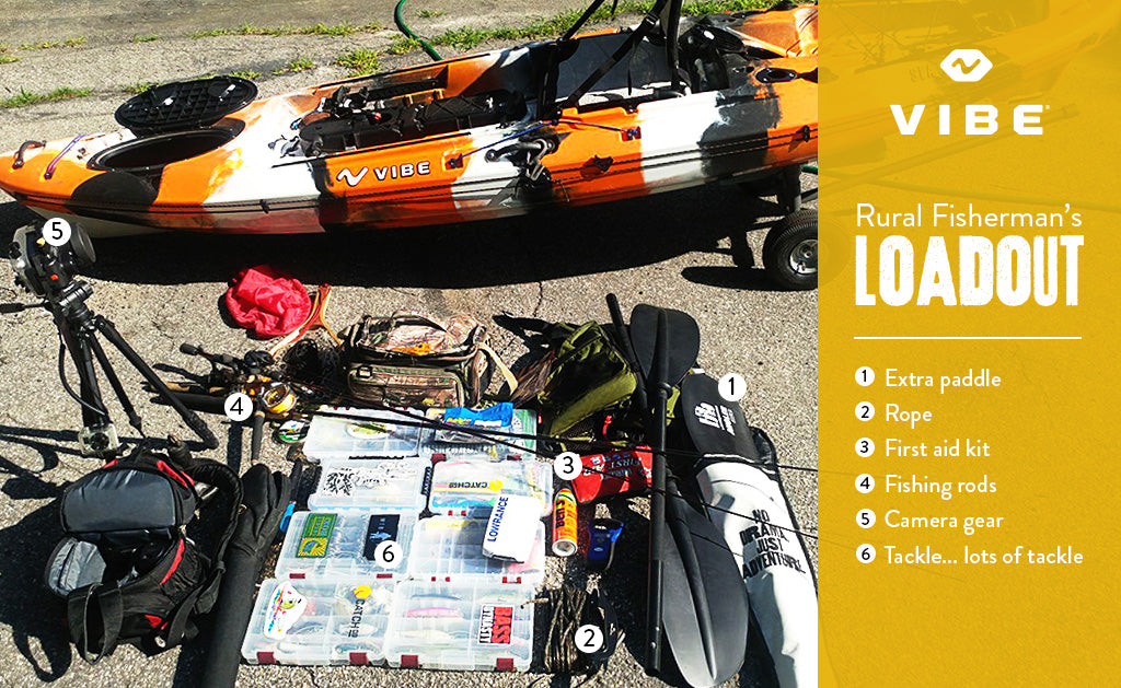What's in Your Fishing Kayak? With Matt Charette
