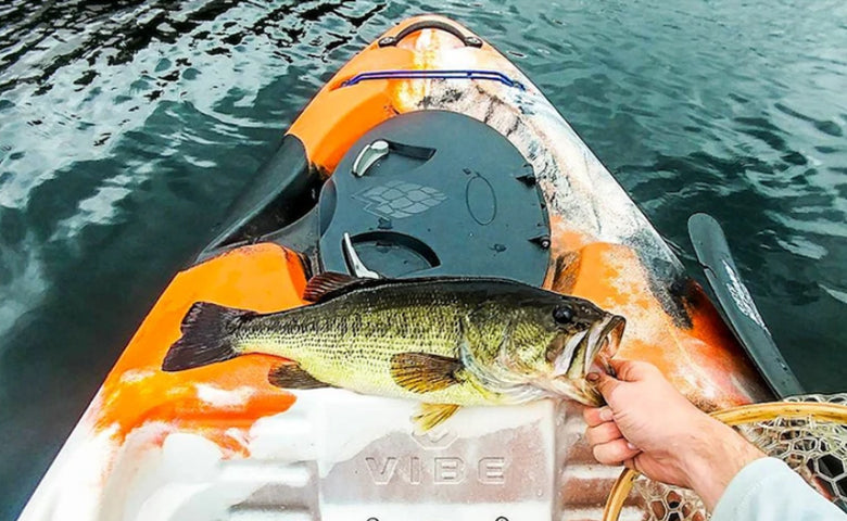 Summer Kayak Bass Fishing Tips