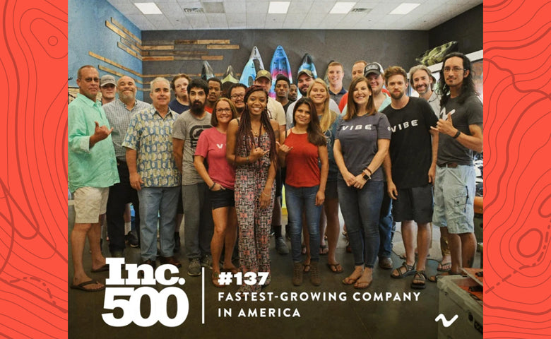 Vibe Named #137 on the Inc. 500 List of Fastest-Growing Companies in America