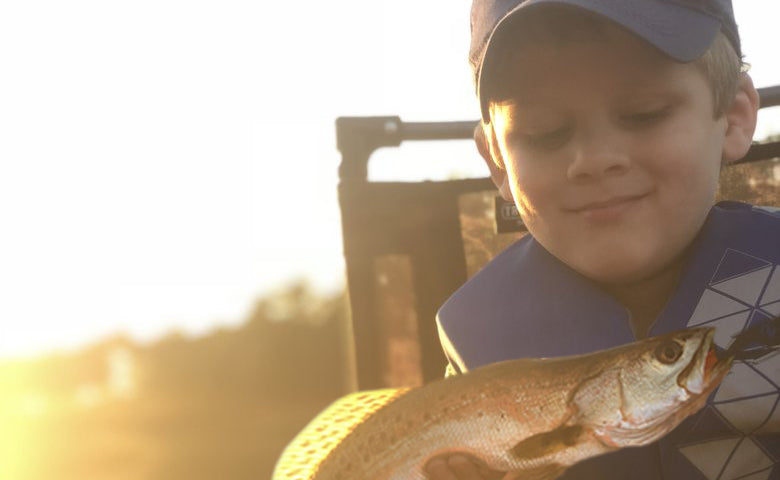 HOW TO GET KIDS HOOKED ON KAYAK FISHING