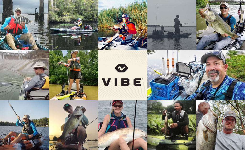 Meet the New Vibe Pro Fishing Team