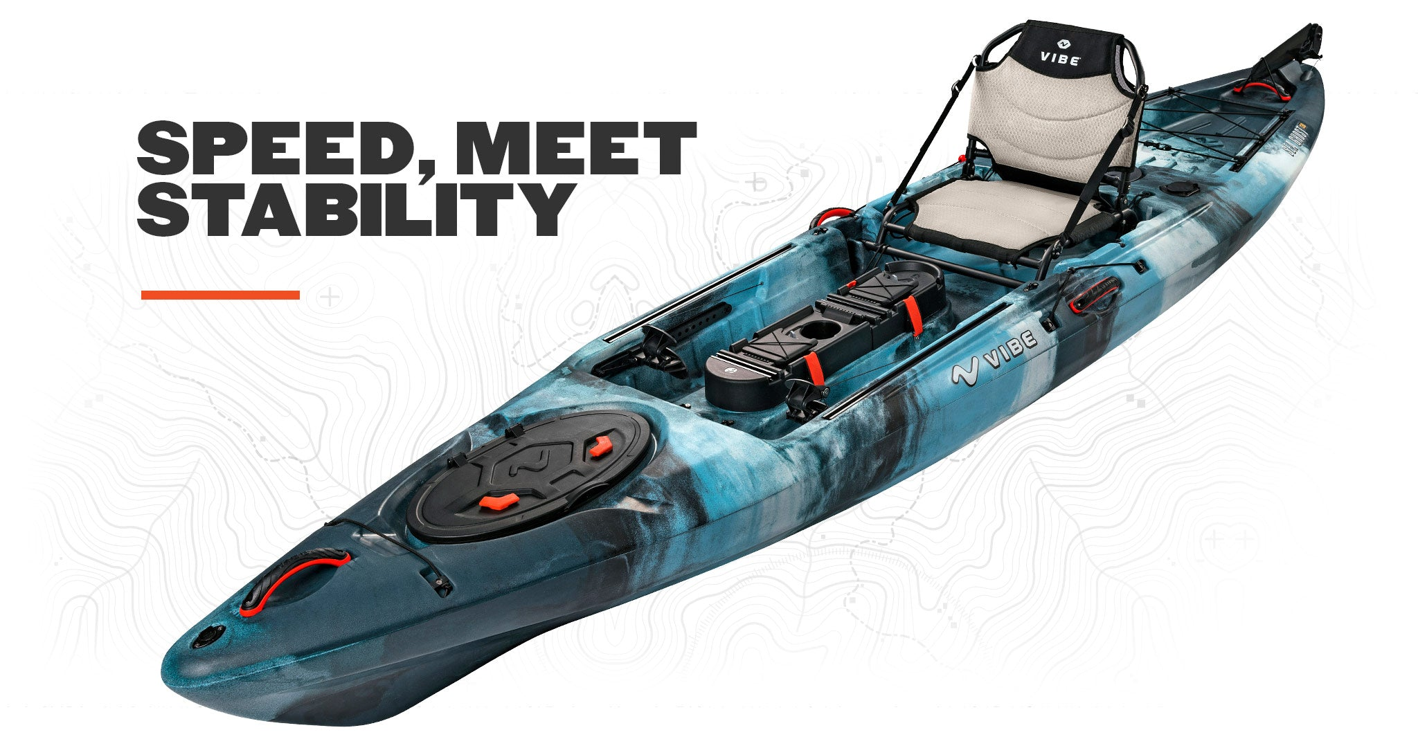 Vibe Sea Ghost 130 Angler Kayak
