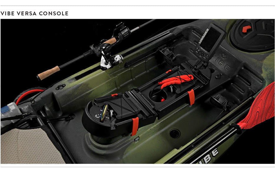 2019 Vibe Sea Ghost Fishing Kayak Versa Console