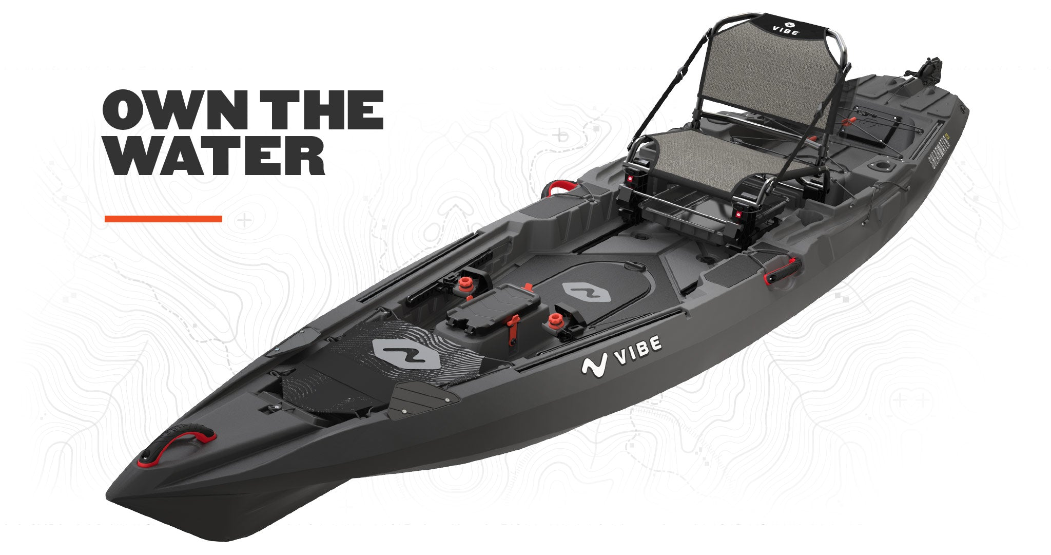 Vibe Shearwater 125 Fishing Kayak